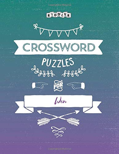 Crossword Puzzles for Wen