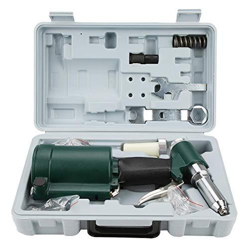Pistola remachadora neumática, aire industrial, pistola remachadora hidráulica, pistola remachadora de aire comprimido, juego de 2,4-4,8 mm