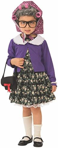 Rubie s girls Little Old Lady Child s Costume As Shown X Small US product image