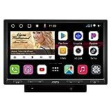 [DAH10D / QLED] ATOTO S8 Pro S8G2104PR-A ダブルディンAndroidカーステレオレシーバー、aptX HD付きデュアルBluetooth、USBテザリング、分割画面ディスプレイ、Android Auto&CarPlay、VSV&LRV、内蔵4Gセルラーモデム