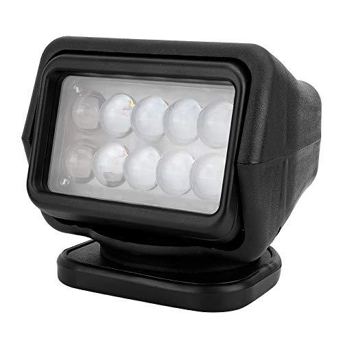 Marine Spotlight, 50 W afstandsbediening auto Marine Boat LED plafondlamp spotlight buitenlamp kort