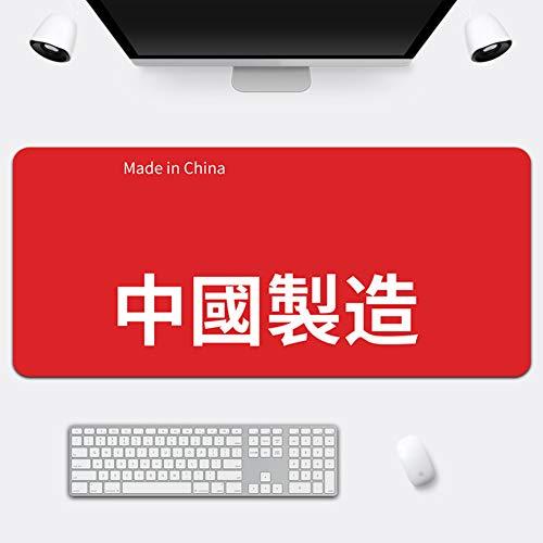 Z IMEI Verlängert Pu Laptop-Tastatur-Maus-pad Spiele Mauspad Desk-pad-Protector Mit Komfortablen Schreibfläche Wasserdicht Ultra Dünn 2 Mm-b 70x36cm/28x14inch