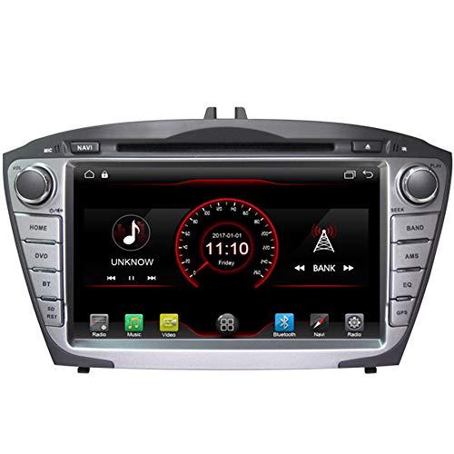Autosion Android 7.1Cortex A91,6g Auto DVD Player GPS Stereo Head Unit Navi Radio Multimedia Wifi für Hyundai Tucson ix352009201020112012201320142015Stütze Lenkrad Kontrolle