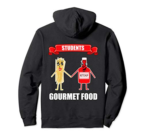 Spaghetti Nudeln Mit Ketchup Pasta I Lustiges Studenten Pullover Hoodie