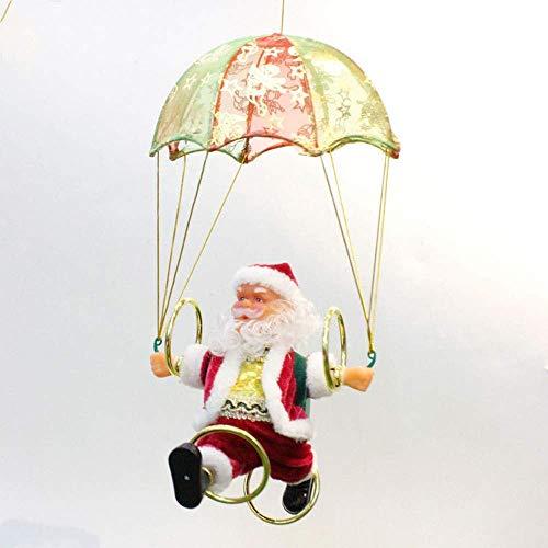 Brightz Eléctrica de Santa Claus árbol de Navidad Adornos de Navidad Decoraciones...