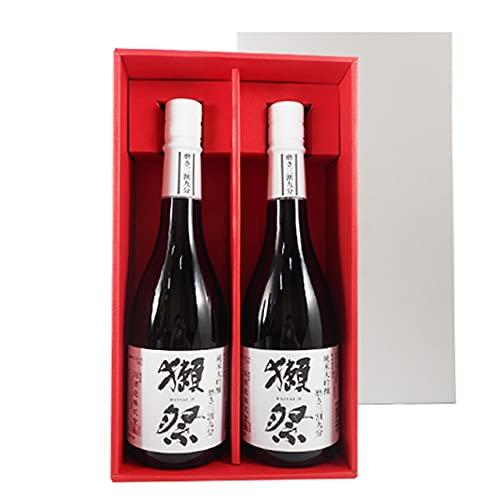 獺祭 純米大吟醸 磨き39 720ml 2本 獺祭専用紅白ギフトボックス 山口県 旭酒造 日本酒