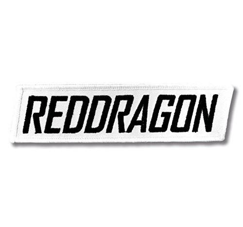 RED DRAGON Sew on Patch