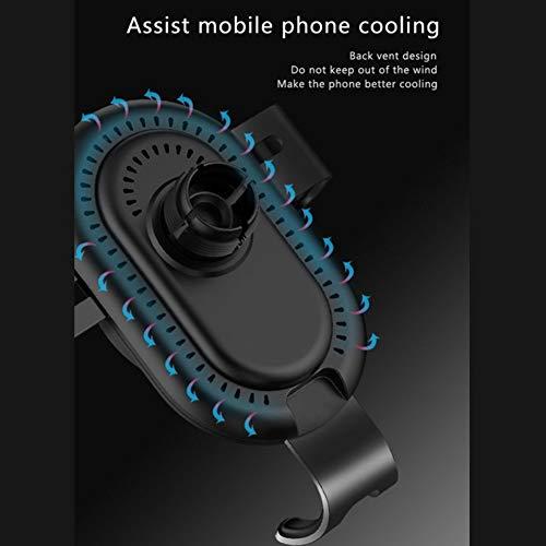 Taurusb Auto-Telefon-Halter - Universal Gravity Linkage Auto-Telefon-Einfassung Für iPhone, Galaxy, Sony, Lenovo, HTC, Huawei Und Andere Smartphones,Rot - 4
