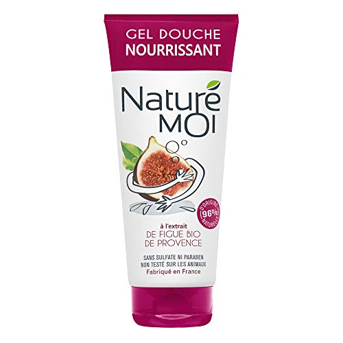 Naturé Moi – Crème douche à l'extrait de figue bio de Provence – Hydrate et nourrit les peaux normales à sèches – 200ml