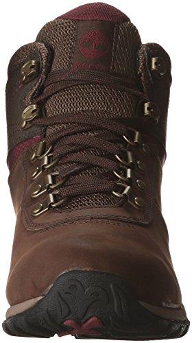 Timberland Women's Norwood Mid Waterproof Hiking Boot, dark brown, 8.5