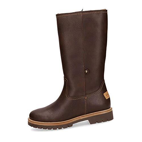 Panama Jack Babina B88 Napa Damen Stiefel aus Glattleder Warmfutter aus Textil, Groesse 37, braun