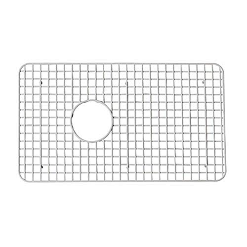 Rohl WSG6307WH 26-1/4-Inch by 15-1/4-Inch Wire Sink Grid for 6307 Kitchen Sinks in White Abcite Vinyl