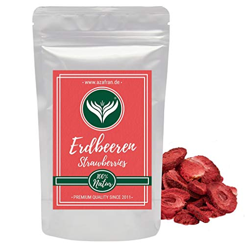 Azafran Erdbeeren gefriergetrocknet in Scheiben 250g