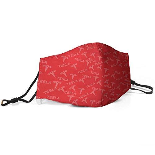 Mundbedeckung T-E-SLA Rot Weiß-1 Frauen...