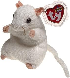 white mouse beanie baby