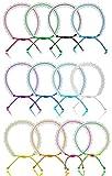 12 PCS VSCO Bracelets for Teen Girls, VISCO...