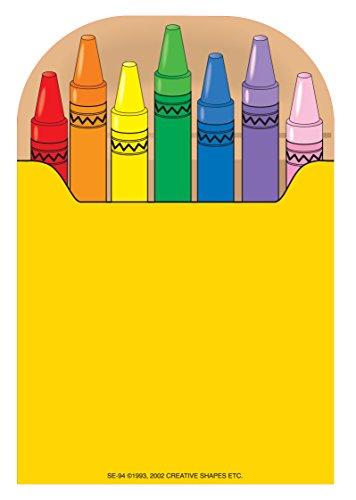Crayon Box Large Notepad