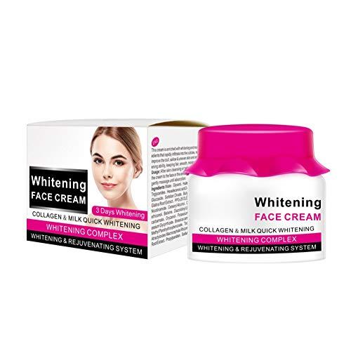 Allbesta Face Whitening Cream Collagen Milk Feuchtigkeitscreme Gesichtscreme Tagescreme Smooth Brighten Skin