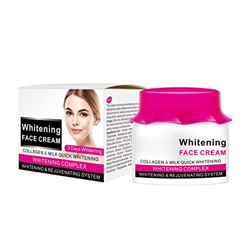 Allbesta Face Whitening Cream Collagen Milk Feuchtigkeitscreme Gesichtscreme Tagescreme Smooth...