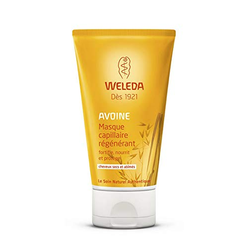 Weleda Masque capillaire régénérant à l'Avoine cheveux secs et abîmés 150ml