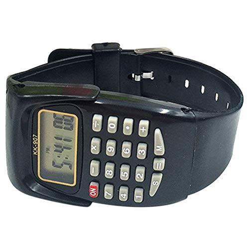 Alicer Kinder Armbanduhr, multifunktionale Digitale Armbanduhr Taschenrechner Prüfungswerkzeug
