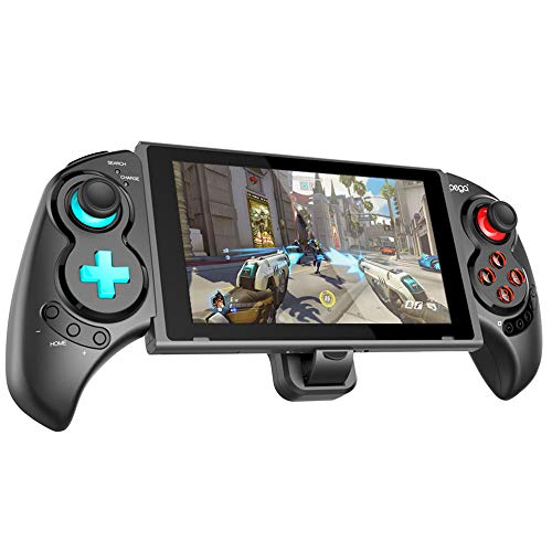 IPEGA Wireless Switch Controller, Wireless Gamepad Joystick Telescopic Game Grip for Nintendo Switch Controllers Support Vibration&Six-Axis Gyroscope Function, for Android Phones/PC Tablets/P3 Host