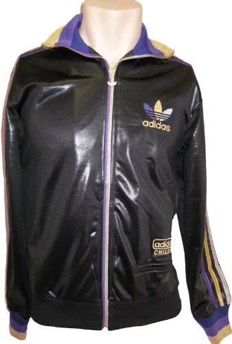 Adidas Originals CHILE 62 RIB TT Gr. S -GLANZ SCHWARZ HERREN