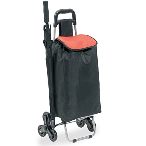 Einkaufstrolley mit Treppensteigerfunktion   Transportwagen   Einkaufsroller   Einkaufswagen   30l Fassungsvermögen