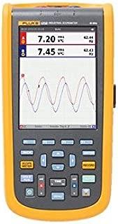 Fluke 123B Industrial ScopeMeter hand-held Oscilloscope, 2 input channels, 20 MHZ bandwidth