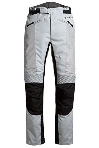 Difi SAN DIEGO LADY Motorradhose Sommer Damen Farbe silbergrau/schwarz, Farbe silbergrau/schwarz, Größe 42