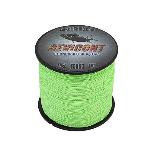 GEVICONT Superbraid Fishing Lines Most Valuable Fishing Equipment Weaves PE 4 Strand 300m328yards 500m547yards 1000m1094yards 10LB100LB Multiple Colors for Offshore Fishing