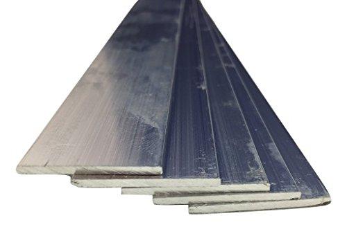 Barres plates en aluminium, 30 mm x 10 mm x 2000 mm, 2000