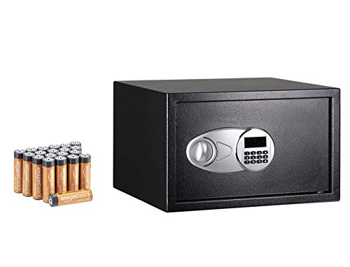 Amazon Basics Steel Security Safe with AA...