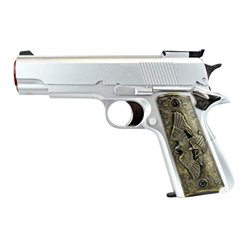 H F C Softair 0,9 Joule Pistola Argento (HG 123S)