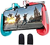 Pubg Joystick triggers for Mobile Gamepad Controller Gaming Trigger for Free fire (1Pair Sleeves+ 1...