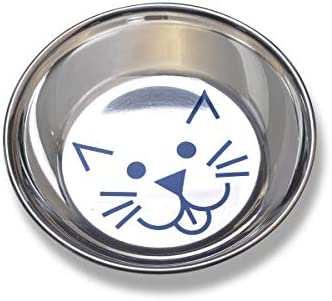 Van Ness Stainless Steel Saucer Style Cat Dish 8 Ounce product image