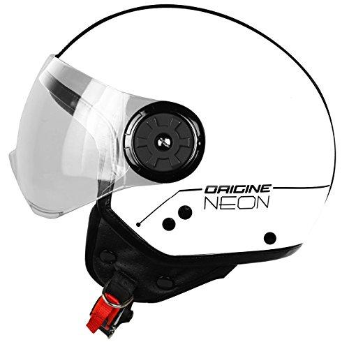 "Origine helmets Motorradhelm 201585028100104, Demi-Jethelm ""NEON Street"", Weiß, M"