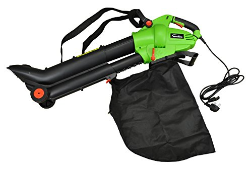 Selections 3 in 1-3000 Watt Electric Leaf Blower Vacuum and Mulch