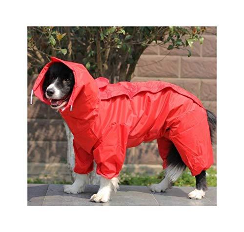 Hopereo Pet Small Large Dog Raincoat Kleidung wasserdichte Regen Schöne Jacken-Mantel-Kleid-Kleidung, 3,22