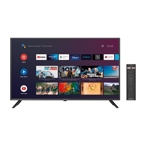 STRONG SRT40FC4433 Full HD Android, écran 101 cm, triple tuners (DVB-T2/C/S2), WiFI, Dolby Digital, Netflix, You Tube, Disney +, Google assistant, HDMI, USB multimédia, Optique, Contrôle parental, CI+