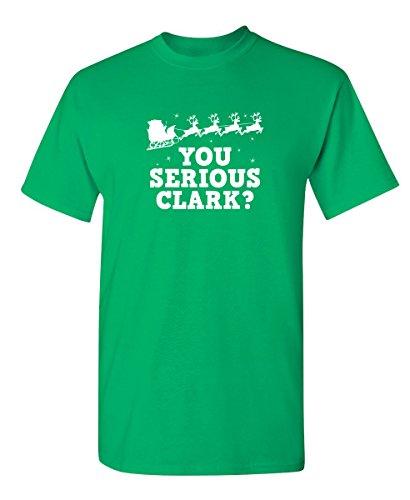 Feelin Good Tees Le Grave Clark Novedad Navidad película Graphic para Hombre Sarcastic Funny T Shirt