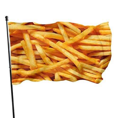 N/A American Guard Vlag Banner Home Vlaggen Franse Fries Verticale Garde voor Familie Patio College Decoratie 3x5 Voet