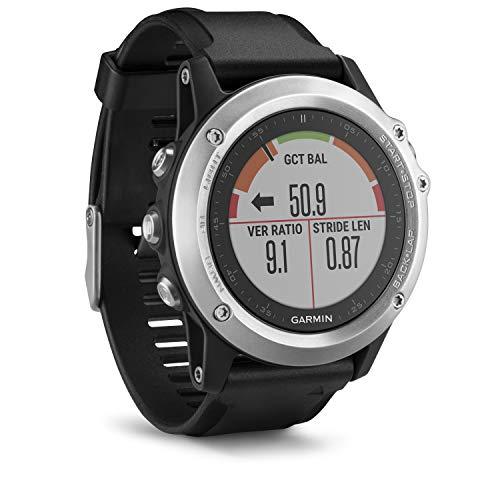 Garmin fenix 3 HR GPS-Multisport-Smartwatch MIT Herzfrequenzmessung am Handgelenk | GPS/GLONASS | Schwarz