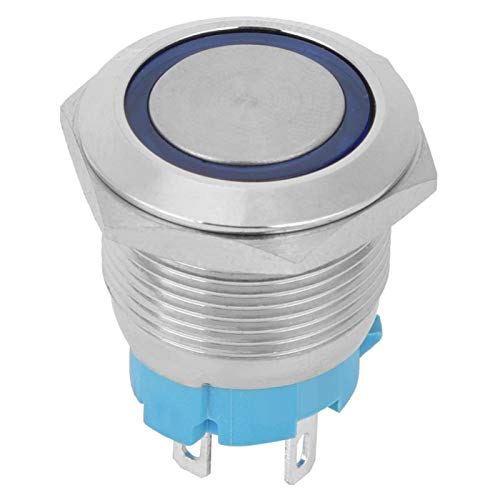 Interruptor de botón pulsador momentáneo IP65 para interruptor LED