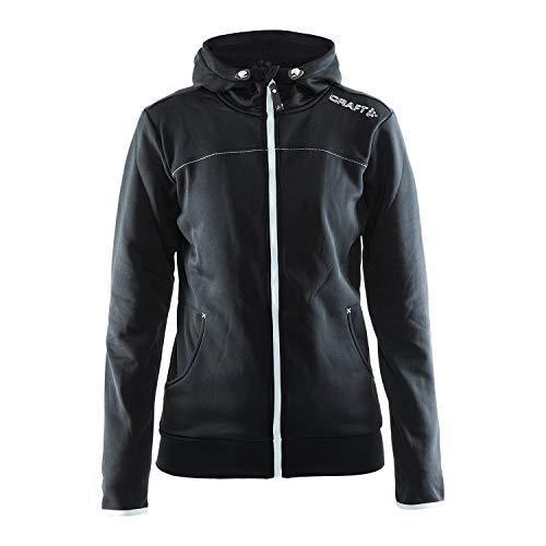 Craft Herren Jacke Leisure Zip Hood, Black, L, 1901693-9920-6