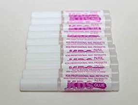 KDS Nail Glue for Professional Nail Art & Design 10pcs Nail Tip Extension Glue