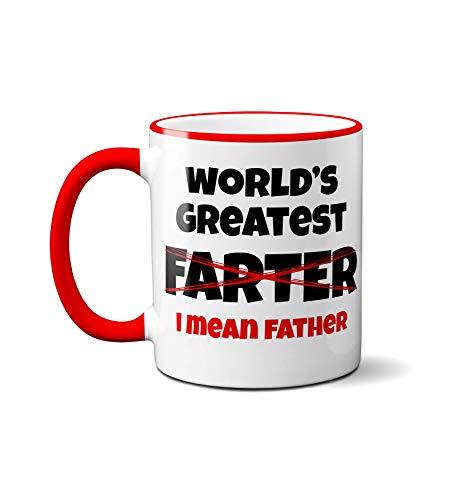World's Greatest Farter, I Mean Father Mug
