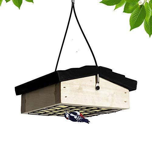 Mardili Cedar Suet Upside-Down Bird Feeder