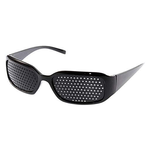 ZHDDM Gafas de Lectura para Juegos de computadora, Ojos para ejercitar la Vista, Mejorar la visión, Entrenamiento Ocular - Negro (5 Piezas)