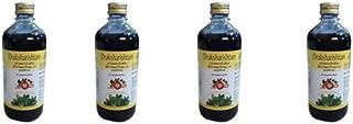 Pack of 4 - Draksharishtam by Arya Vaidya Pharmacy - 450ml